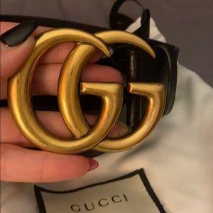 Gucci large belt